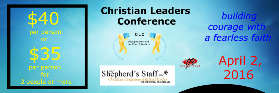 Christian Leaders Conference April 2, 2016