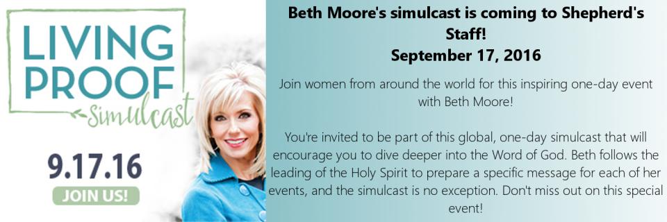 Beth Moore Simulcast 2016